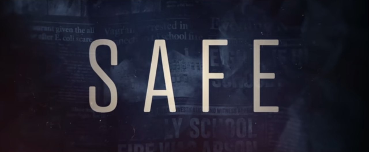 logo safe serie tv