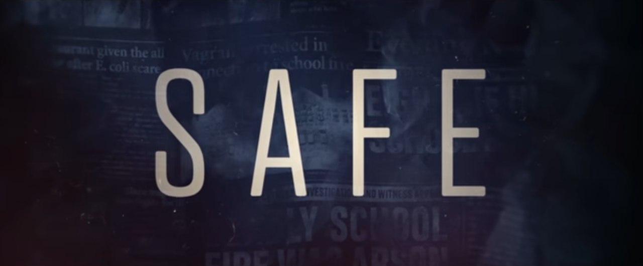 logo safe serie tv