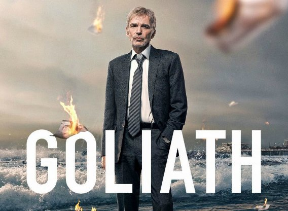 Logo Goliath serie tv